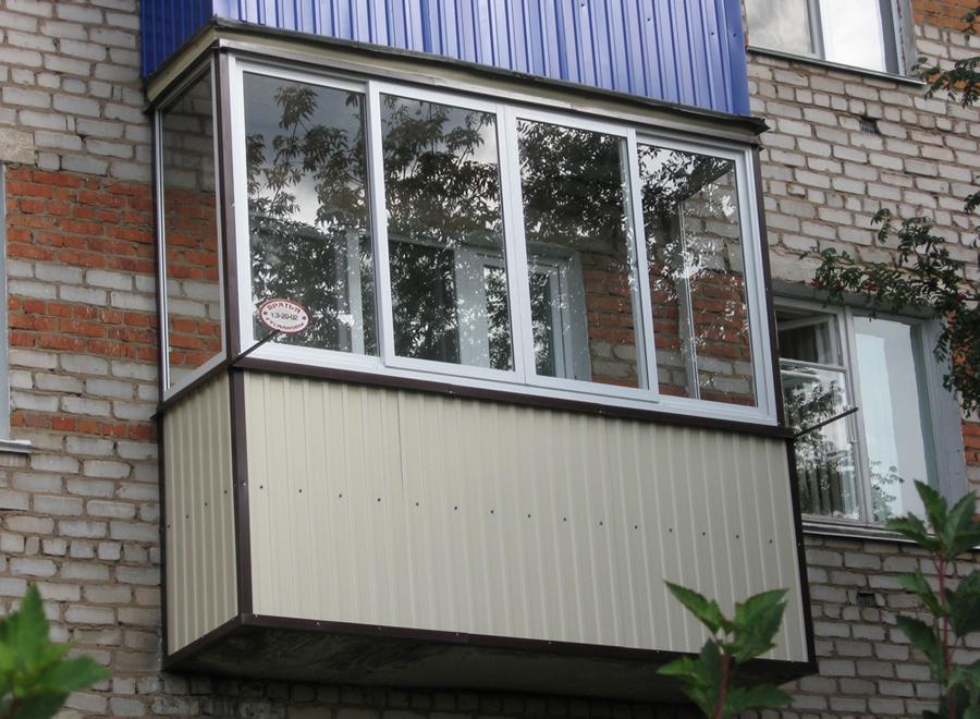 Наружная отделка балконов фото